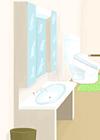 洗面化粧台(車いす用)イメージその3