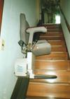 いす式階段昇降機イメージその1